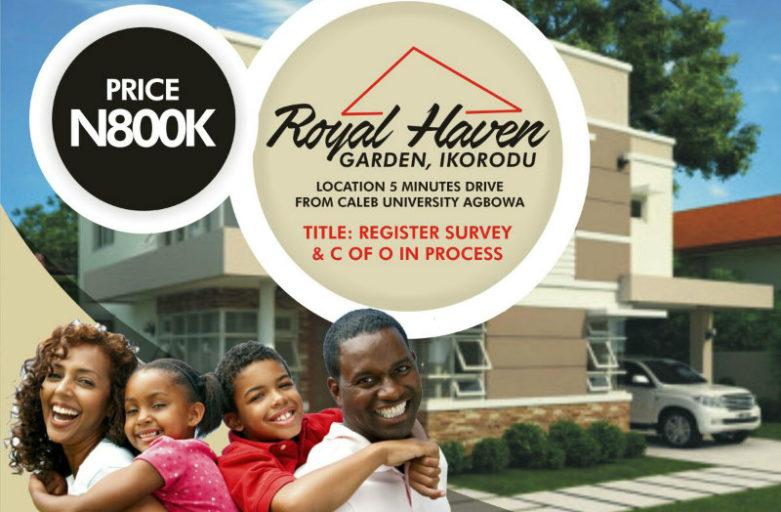 Royal Haven Garden Agbowa Ikorodu