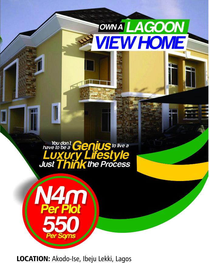 Land for sale in Citadel Of Dreams Ibeju Lekki Lagos