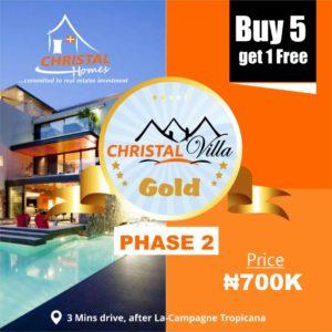 Christal Villa Gold Phase 2