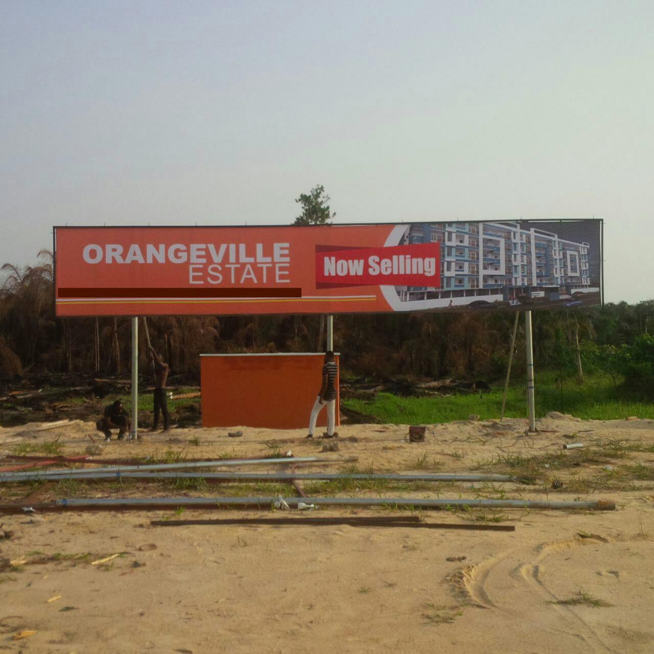 Orangevill estate Ajah pictures