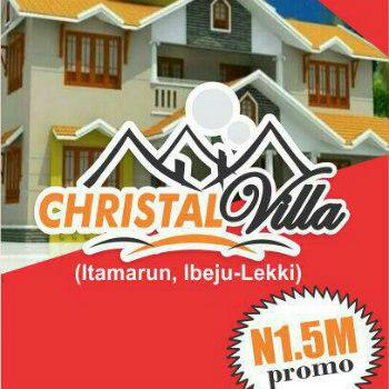 Christal Villa Estate Ibeju Lekki