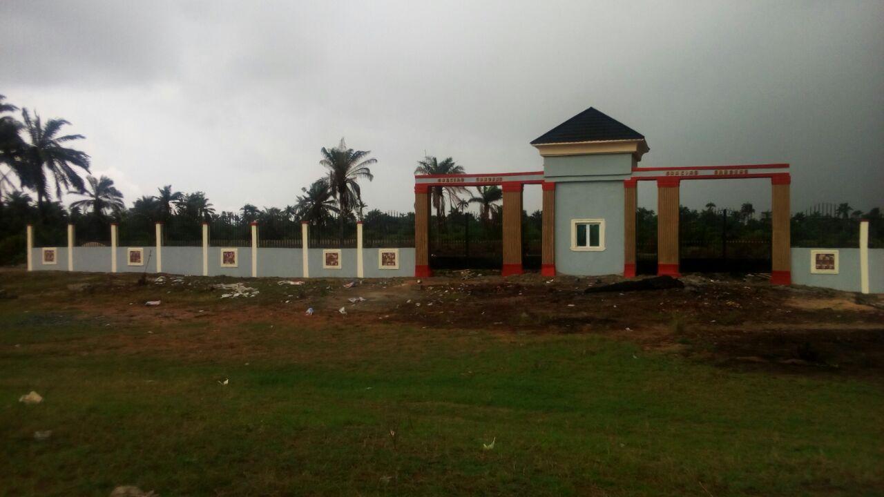 Gracias Gardens Scheme 1 estate Ibeju Lekki