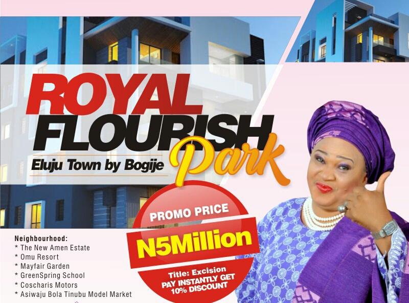 For Sale – Royal Flourish Park Estate Eluju Town Bogije