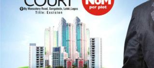 Land for sale in Gracias Court Scheme 1 Sangotedo