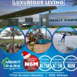 Merit Park estate close to Amen estate Ibeju Lekki