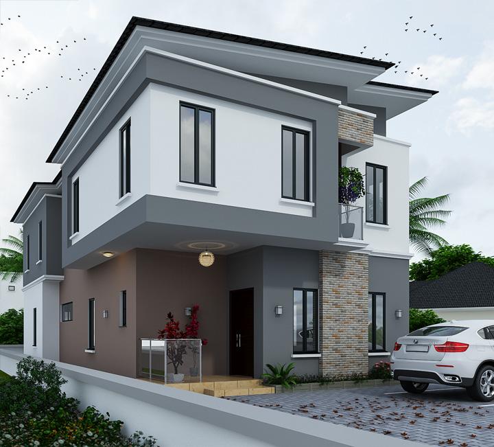 4 Bedroom Villa For Sale In Amen Estate Phase 2